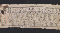 Bandelette de momie au nom d'Hétepimen